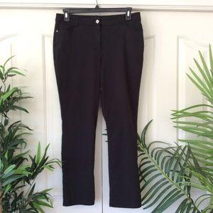 Dana Buchman 14 Black Pants